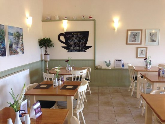Gamlingay, UK: Woodview Farm Café is the perfect place for a relaxing chat over a light lunch.