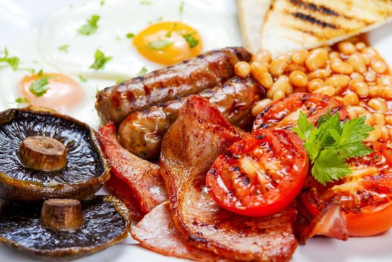 Gamlingay, UK: With Woodview sausages, bacon and eggs, our breakfasts are the best around.