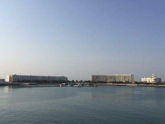 Al Mussanah, Omán: View from seawall