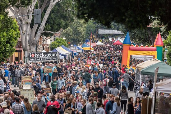 San Luis Obispo County, แคลิฟอร์เนีย: Downtown SLO Thursday Farmers Market