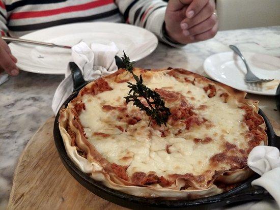 Oregano: Chicken lasagna