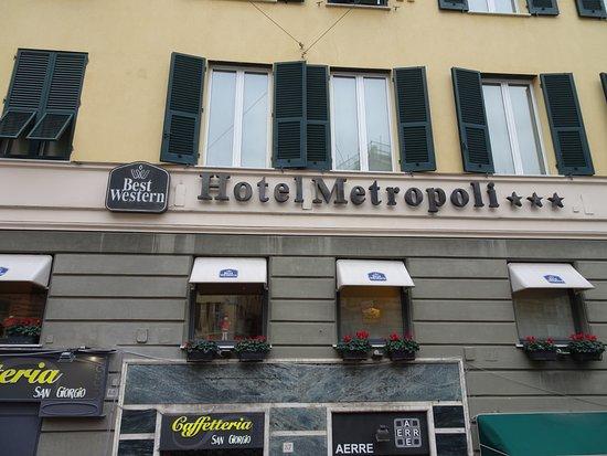 вид отеля с улицы - Foto di BEST WESTERN Hotel Metropoli, Genova -  Tripadvisor