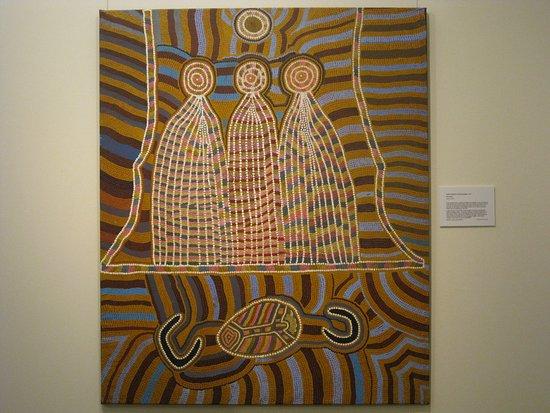 New Norcia Museum & Art Gallery: Recente aboriginal kunst in New Norcia