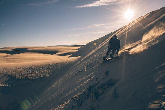 San Luis Obispo County, Kalifornien: Sandboarding the Oceano Dunes
