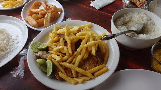 Excelente Restaurante Barraca da Monica