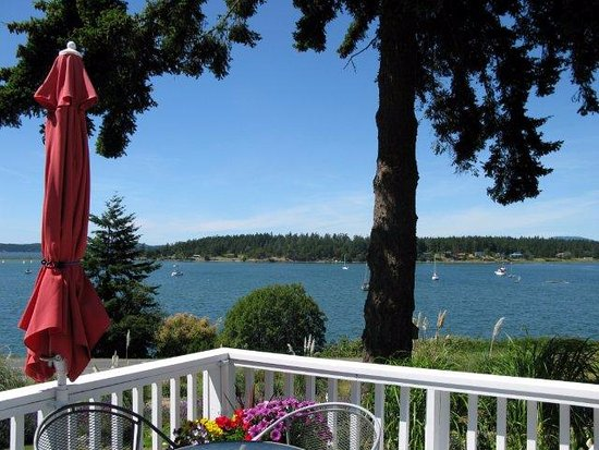 Lopez Island, WA: Bay House View