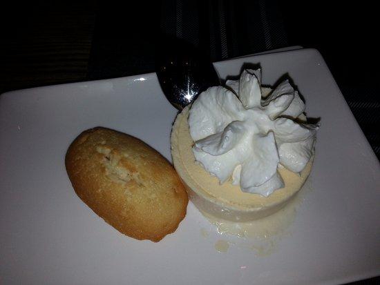 Malbuisson, ฝรั่งเศส: Dessert : soufflé au pontarlier