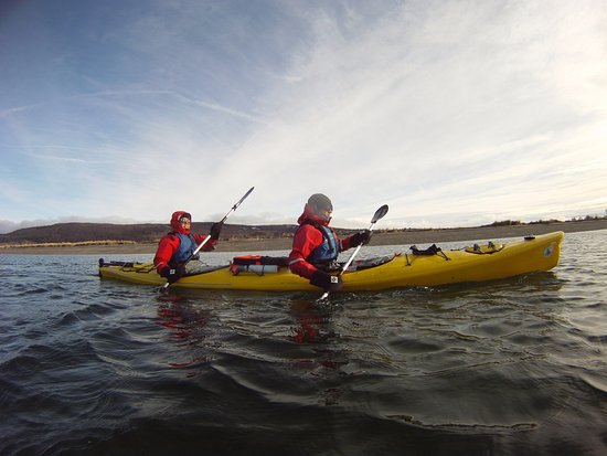 Magallanes Region, Chile: KAYAK, en el estrecho de magallanes