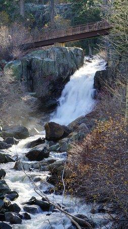 Eagle Falls: Верхний водопад и мостик