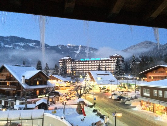 Hotel du Golf: View from room 216