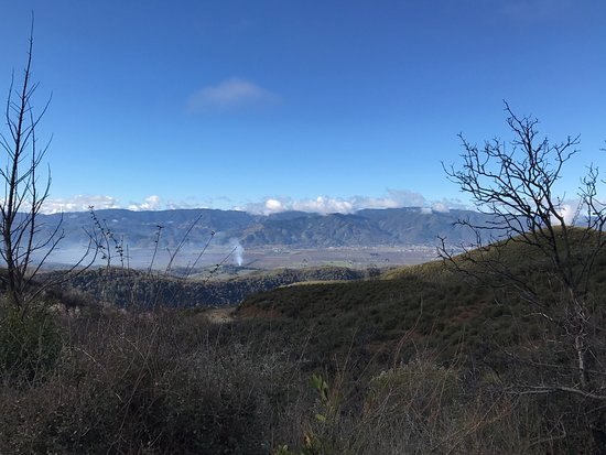 Awesome views of Ukiah from Cow Mountain.