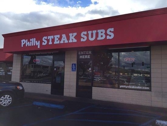 El Cajon, Kalifornia: Philly Steak Sub