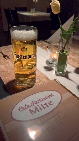 Blumberg, Germany: leckeres Bierchen