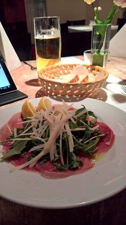 Blumberg, Jerman: Carpaccio mit Parmesan