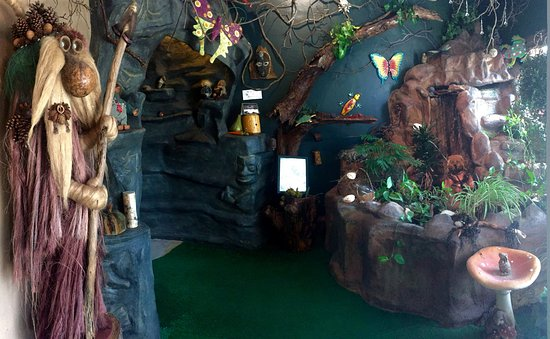 Alliance, OH: Troll grotto and the entrance to the troll cave!