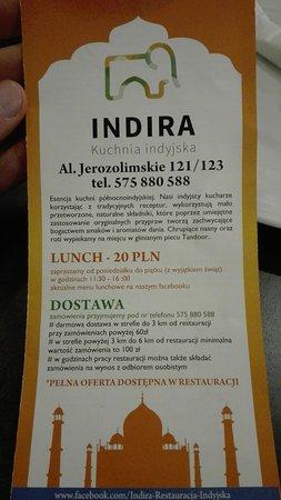 Img 20170118 Wa0003 Large Jpg Picture Of Indira Warsaw Tripadvisor