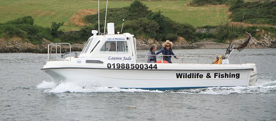 Newton Stewart, UK: 'Lauren Jade' Our charter boat