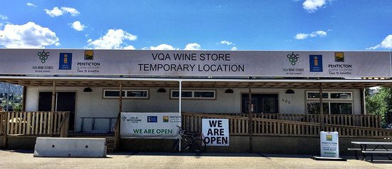 Penticton, Canada: Temporary location until Spring 2017. We are located in front of the South Okanagan Events Centr