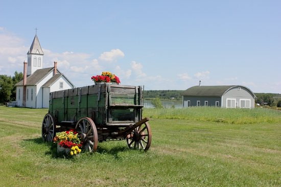 Summer at the Lac La Biche Mission Historical Site