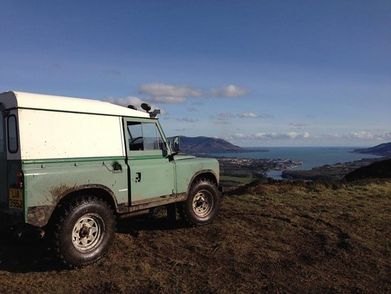 Newry, UK: Off roading with one off the best views in Ireland