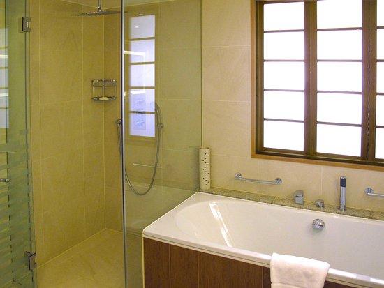 London Hilton On Park Lane: Park Lane Suite   Bathroom With Walk In Shower