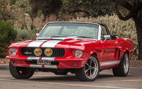 Photo 1967 Mustang Gt500 Convertible Automatic Steering