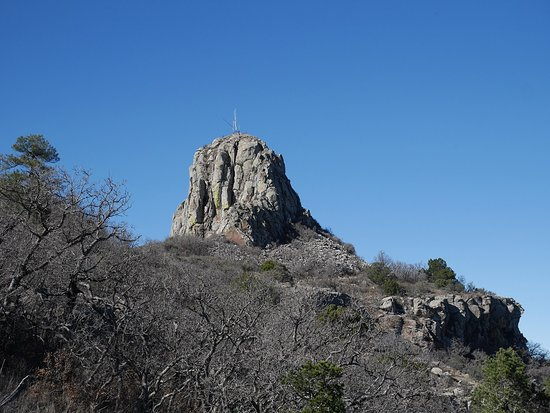 Mount Livermore: Closeup of summit dome
