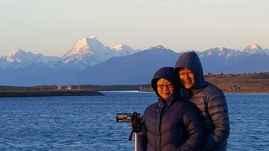 Twizel, Nueva Zelanda: Sunset Tour Tekapo Canal and Aoraki Mt Cook
