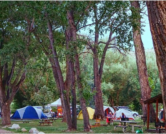 Loveland, CO: Camping Area