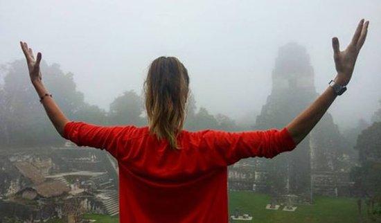 Youth Hostel Los Amigos: Los Amigos is a great base for the Tikal Ruins!