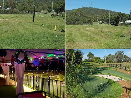 Mount Gravatt, Australien: Footgolf course and mini golf