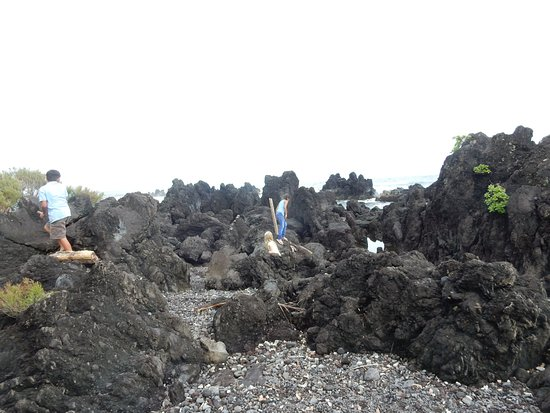 Laupahoehoe, Hawái: Playing on the Point