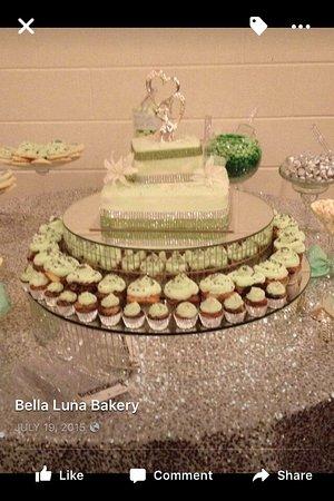 Bella Luna Bakery Wedding Cake
