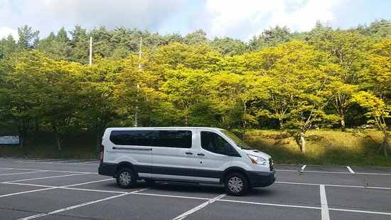 Ford Transit 12 15 Seater Van Goes For Flower Festival In Korea