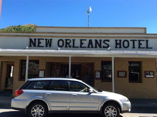 Arrowtown, New Zealand: even a hotel