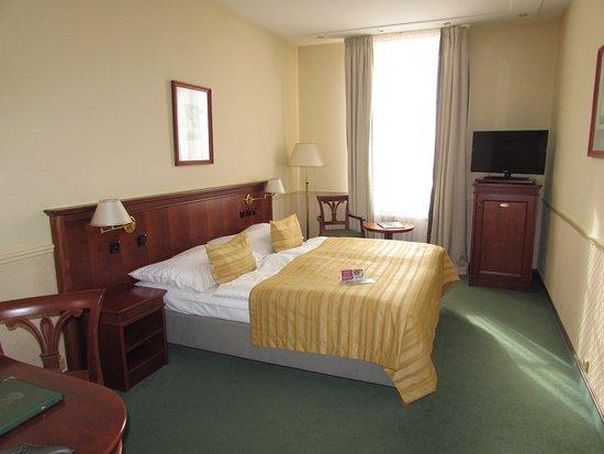 Adria Hotel Prague: Номер на 6 этаже