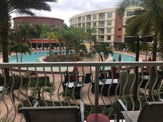 Melia Orlando Suite Hotel at Celebration: View from the balcony