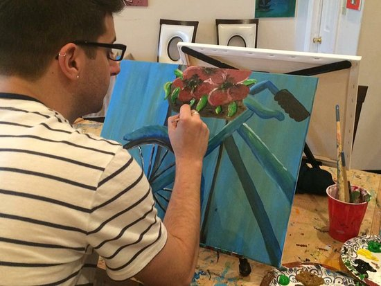 Meriden, CT : Open painting nights