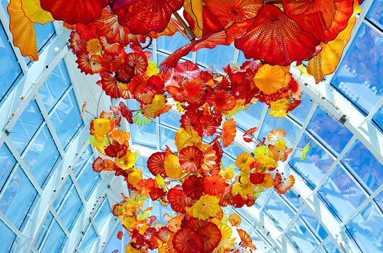 Seattle Chihuly Garden and Glass Exhibit Admission