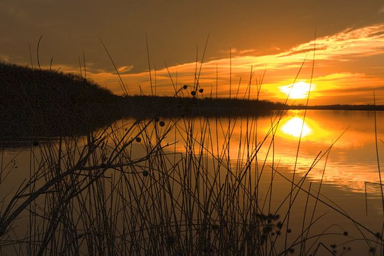 Lake Mineral Wells State Park: Beautiful sunsets await.