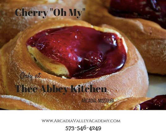 Thee Abbey Kitchen: Cherry Oh My (A yummy Danish Dessert with Fruit and Sweetened Cream Cheese Baked inside)