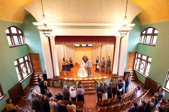 Thee Abbey Kitchen: Beautiful historic Theatre on-site as well!  Great venue for weddings, events, concerts or to to