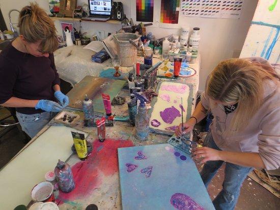 Art Workshops with Andrea Cermanski