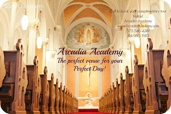 Arcadia, MO : Beautiful Chapel on-site for Weddings or schedule an historic tour!