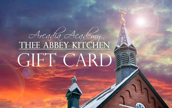 Arcadia Academy: This makes the perfect gift for anyone!  Pick up a gift card or buy online!