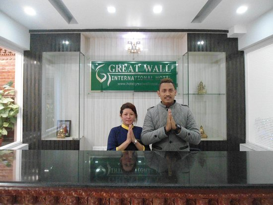 Hotel The Great Wall: Reception - Welcome to Hotel The Greatwall