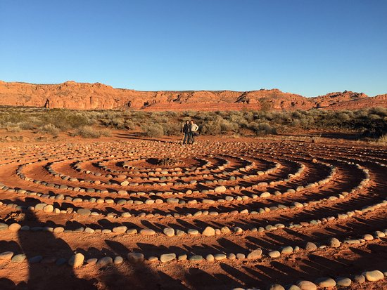 Red Mountain Resort: Spiral meditation walk