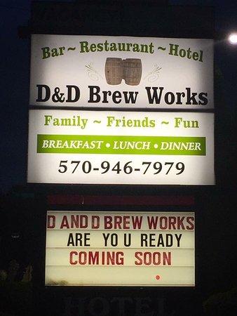 Muncy Valley, PA: D&D Brew Works