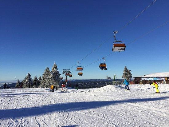 Skiareal Novy Klinovec