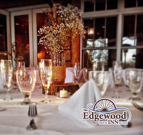 Edgewood Inn: Wonderful spaces for elegant banquet dining